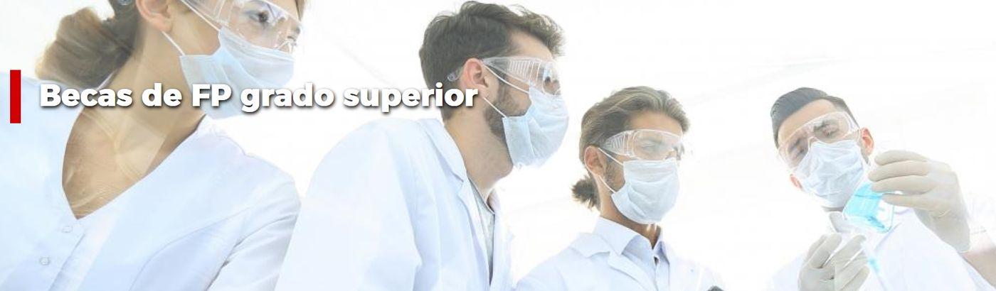 Becas para el estudio de Formación Profesional de Grado Superior en centros privados autorizados por la Comunidad de Madrid para el curso 2019/2020
