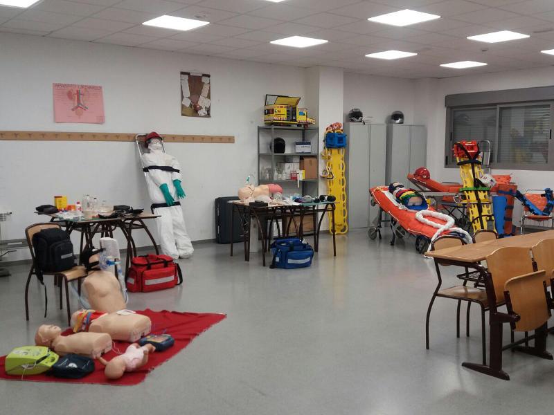 Taller del ciclo FP Técnico de Emergencias Sanitarias