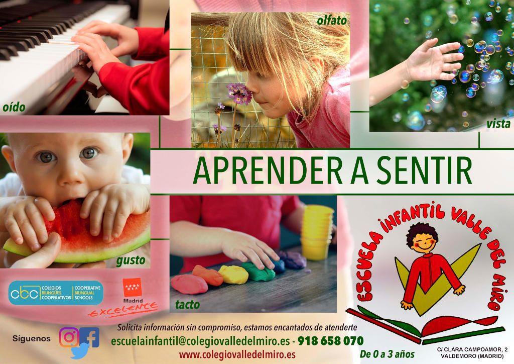 Escuela Infantil Valle del Miro Valdemoro Aprender a Sentir
