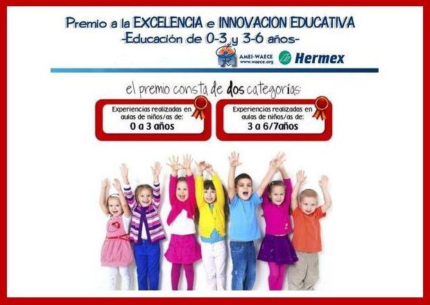 Ganamos un accésit en los Premios AMEI-WAECE y Hermex Iberica A LA EXCELENCIA E INNOVACIÓN EDUCATIVA