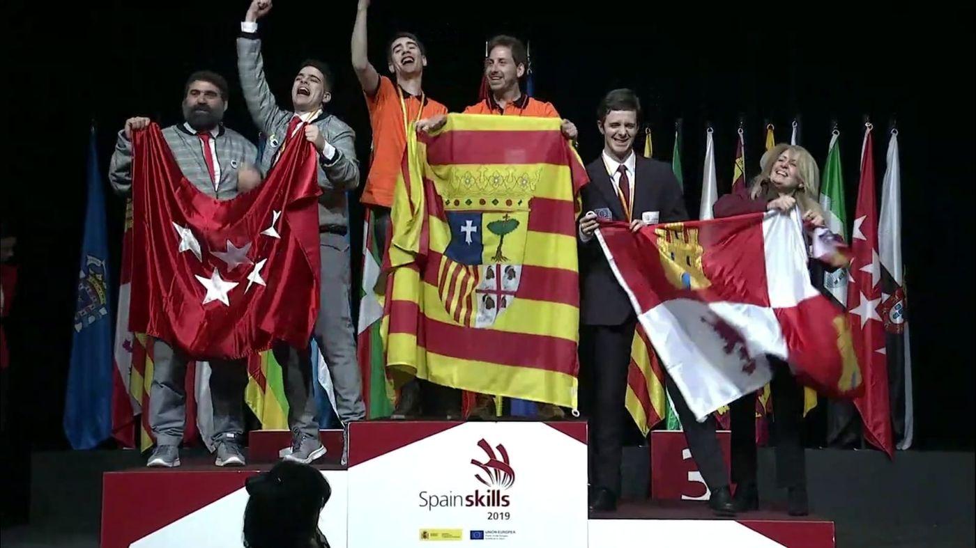Nuestro alumno de FP, Sergio Mora, ha obtenido medalla de plata en la competición nacional SpainSkills2019
