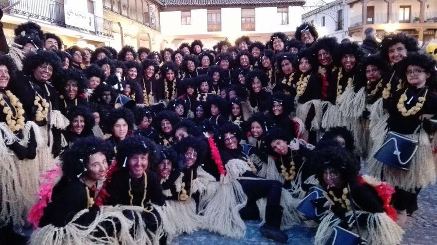 Participamos en el desfile de carnaval de Valdemoro 2018