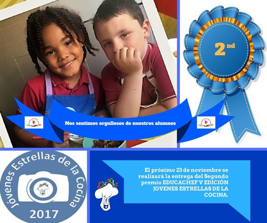 Presentación de ganadores 2º premio Jovenes Estrellas de la Cocina V (EDUCACHEF)