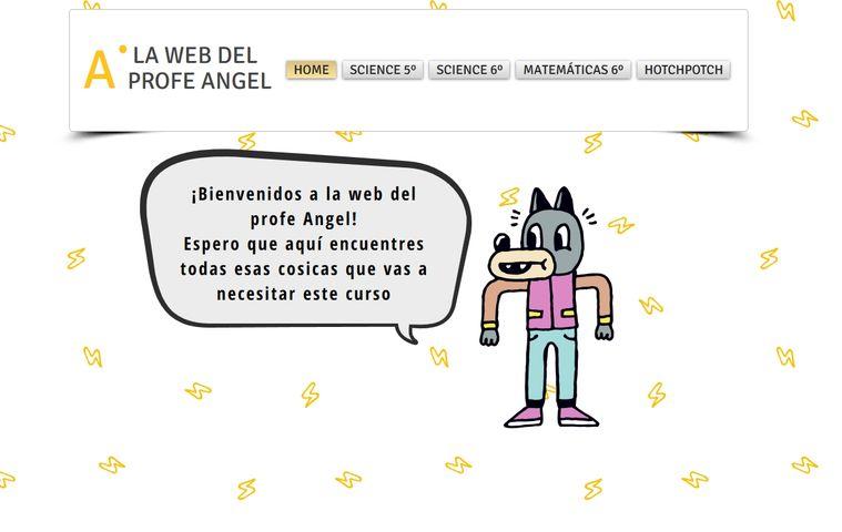 Página web Ángel Perea (Primaria) colegio bilingue valle del miro valdemoro