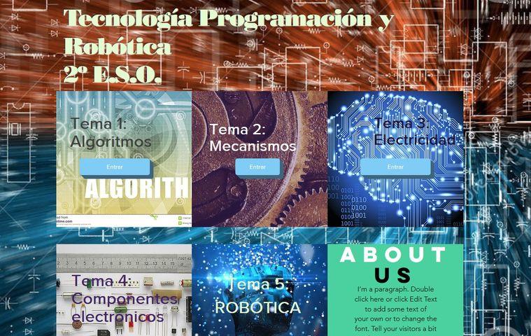 Página web Antonio Ledesma (Secundaria) colegio bilingue valle del miro valdemoro