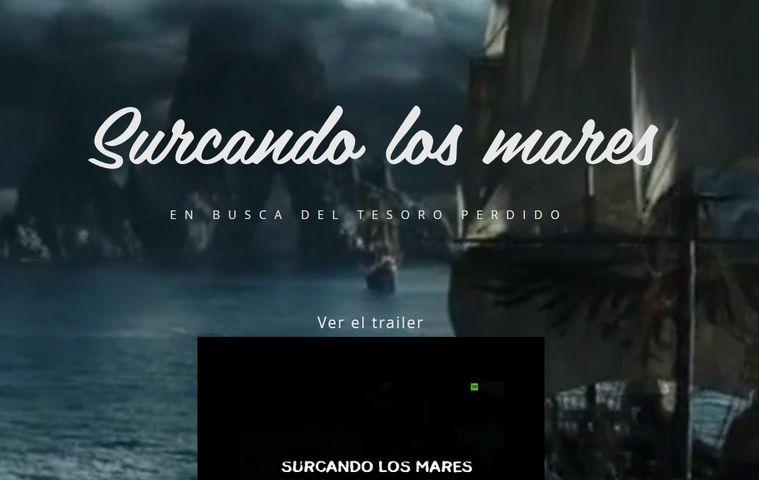 Página web 'Surcando los Mares' colegio bilingue valle del miro valdemoro