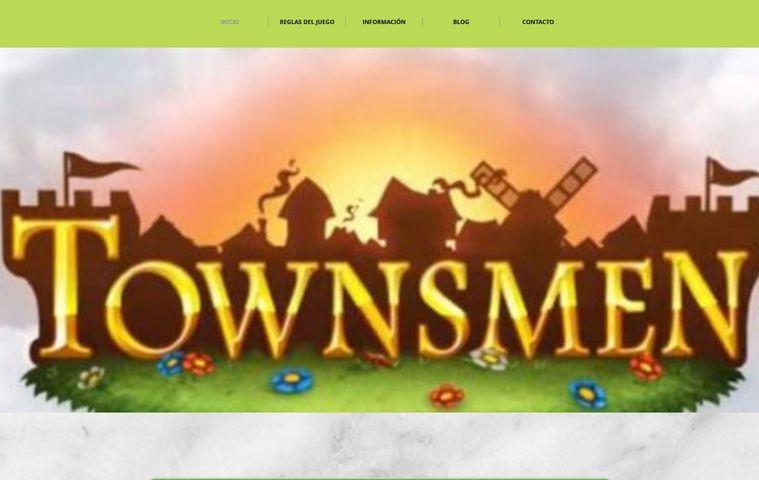 Página web 'Townsmen' colegio bilingue valle del miro valdemoro