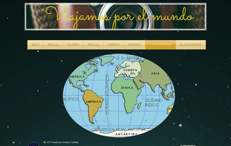 Página web Andrea Cristóbal colegio bilingue valle del miro valdemoro