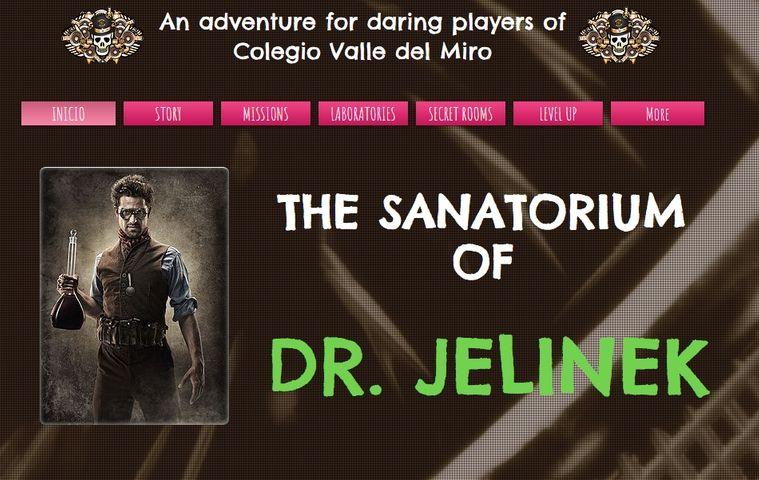 Página web 'Sanatorium Of Dr Jelinek' colegio bilingue valle del miro valdemoro