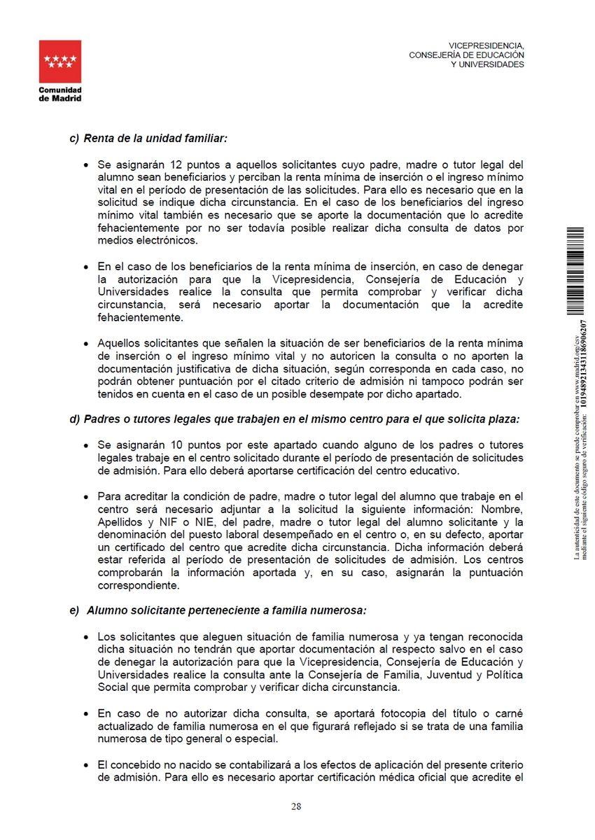 Criterios para el baremo de solicitudes pág. 3